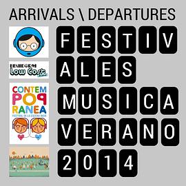 Montaje imágenes con algunos festivales de verano 2014
