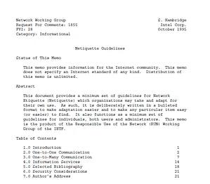 Documento IETF