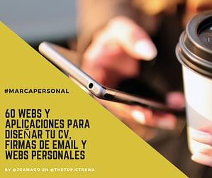 #MarcaPersonal Más de 60 Webs y Aplicaciones para Crear tu Visibilidad en las Redes Sociales y Profesionales 🚩 by @JgAmago en @TheTopicTrend