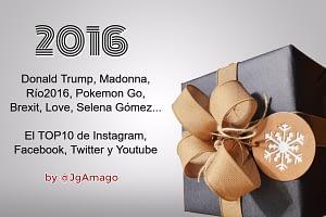 Así fue el año 2016 en Twitter, Facebook, Instagram y Youtube. El Top 10 de las principales plataformas sociales por @JgAmago en @thetopictrend
