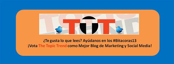Vótanos como Mejor Blog de Marketing y Social media en los Bitacoras 2013