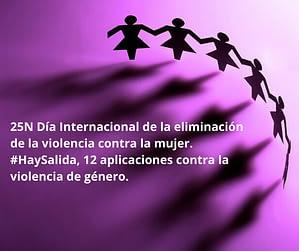 #HaySalida 12 aplicaciones móviles contra la violencia de género post de @JgAmago en @thetopictrend