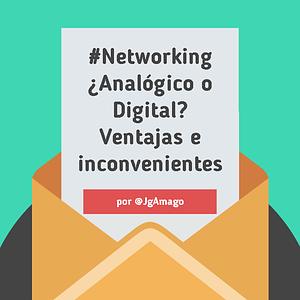 #Networking Ventajas e inconvenientes del networking online y del networking offline por @JgAmago en @thetopictrend