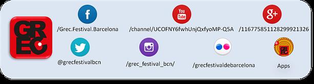 Presencia online Grec 2014